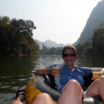 Tubing in Vang Vieng