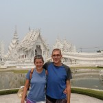 Us at White Temple (Wat Rong Khun)